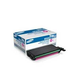 Original Samsung CLT-M508S Magenta toner cartridge, 2500 pages