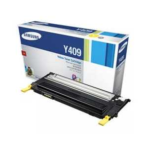 Original Samsung CLT-Y409S Yellow toner cartridge, 1000 pages