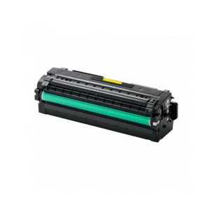 Compatible Samsung CLT-Y505L Yellow toner cartridge, High Yield, 3500 pages