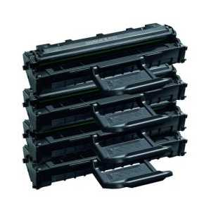 Compatible Samsung ML-2010D3 Black toner cartridges, 4 pack