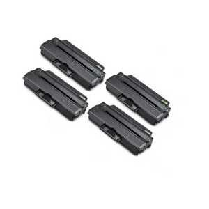 Compatible Samsung MLT-D103L Black toner cartridges, High Yield, 4 pack
