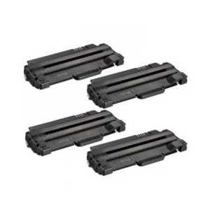 Compatible Samsung MLT-D105L Black toner cartridges, High Yield, 4 pack