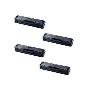 Compatible Samsung MLT-D111L toner cartridges, High Yield, 4 pack