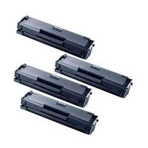 Compatible Samsung MLT-D111S toner cartridges, 4 pack