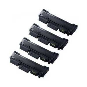 Compatible Samsung MLT-D116L Black toner cartridges, High Yield, 4 pack