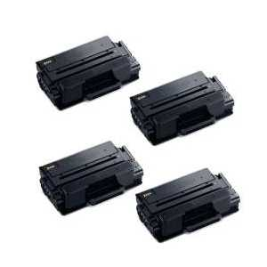 Compatible Samsung MLT-D203E Black toner cartridges, Extra High Yield, 4 pack