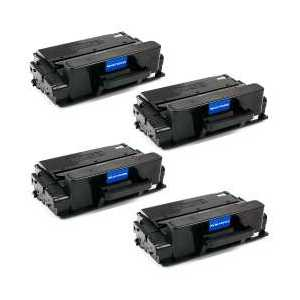 Compatible Samsung MLT-D203U Black toner cartridges, Ultra High Yield, 4 pack