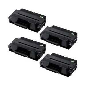 Compatible Samsung MLT-D205L toner cartridges, High Yield, 4 pack