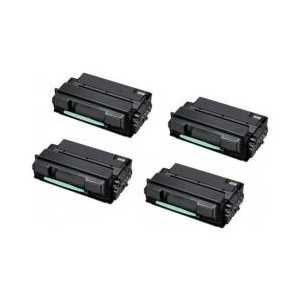 Compatible Samsung MLT-D305L Black toner cartridges, High Yield, 4 pack