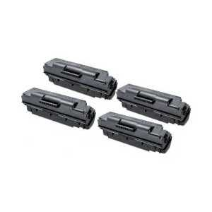 Compatible Samsung MLT-D307E Black toner cartridge, Extra Yield, 4 pack