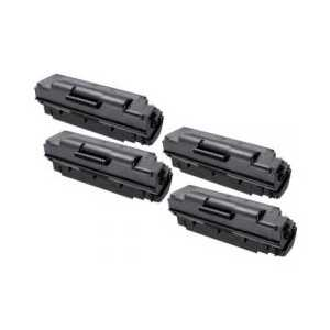 Compatible Samsung MLT-D307S Black toner cartridge, 4 pack