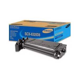 Original Samsung SCX-6320D8-XAA Black toner cartridge, 8000 pages