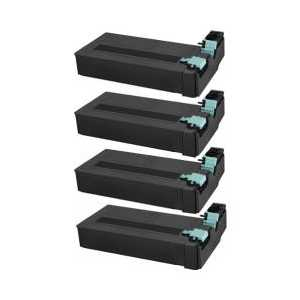 Compatible Samsung SCX-D6555A toner cartridges, 4 pack