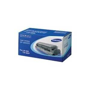 Original Samsung SF-5800D5 Black toner cartridge, 6000 pages