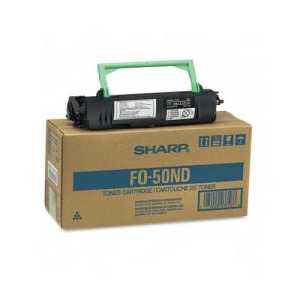 Original Sharp FO-50ND Black toner cartridge, 6000 pages
