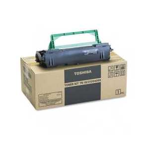 Original Toshiba TK18 Black toner cartridge, 6000 pages