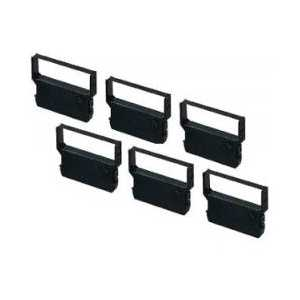 Verifone compatible CRM-0023BK Black ribbon cartridge - 6-pack