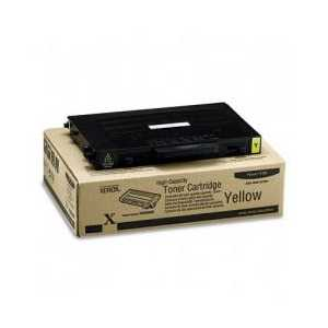 Xerox 106R00682 Yellow High Capacity genuine OEM toner cartridge