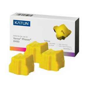 Xerox compatible 108R00607 Yellow solid ink for Phaser 8400 - 3 sticks