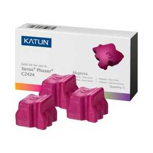 Xerox compatible 108R00661 Magenta solid ink for WorkCentre C2424 - 3 sticks
