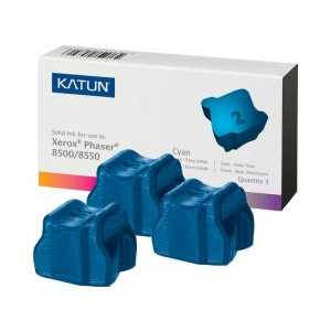 Xerox compatible 108R00669 Cyan solid ink for Phaser 8500/8550 - 3 sticks