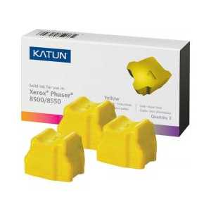 Xerox compatible 108R00671 Yellow solid ink for Phaser 8500/8550 - 3 sticks