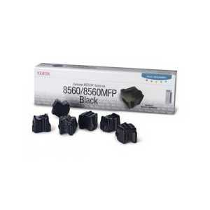 Xerox 108R00727 Black genuine OEM solid ink for Phaser 8560 - 6 sticks