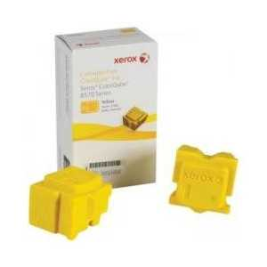 Xerox 108R00928 Yellow genuine OEM solid ink for ColorQube 8570 - 2 sticks