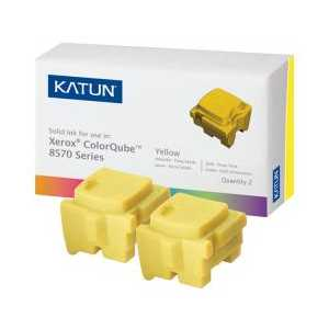 Xerox compatible 108R00928 Yellow solid ink for ColorQube 8570 - 2 sticks