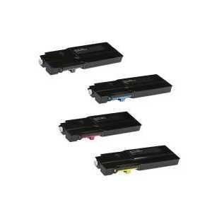 Compatible Xerox 106R03524, 106R03526, 106R03527, 106R03525 toner cartridges, 4 pack