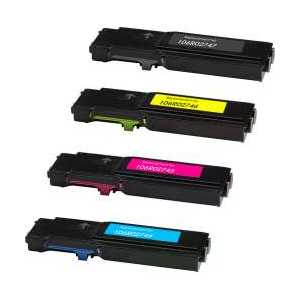 Compatible Xerox 106R02747, 106R02744, 106R02745, 106R02746 toner cartridges, High Capacity, 4 pack